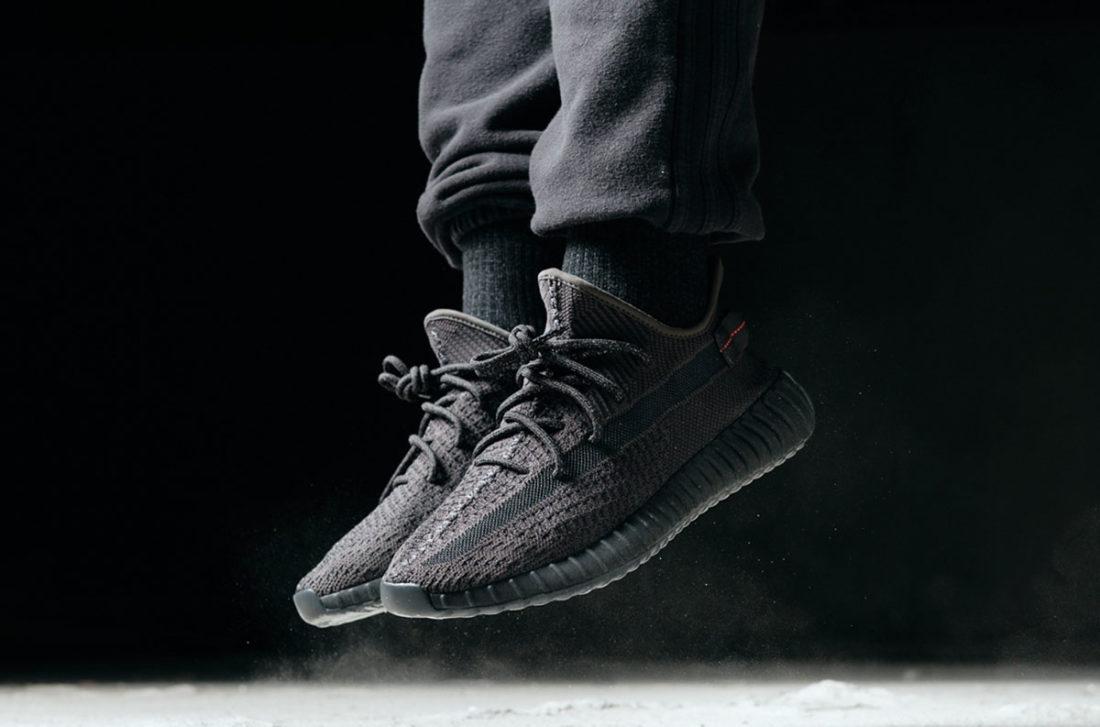 Adidas Yeezy Boost 350 V2 Black : une nouvelle paire à l