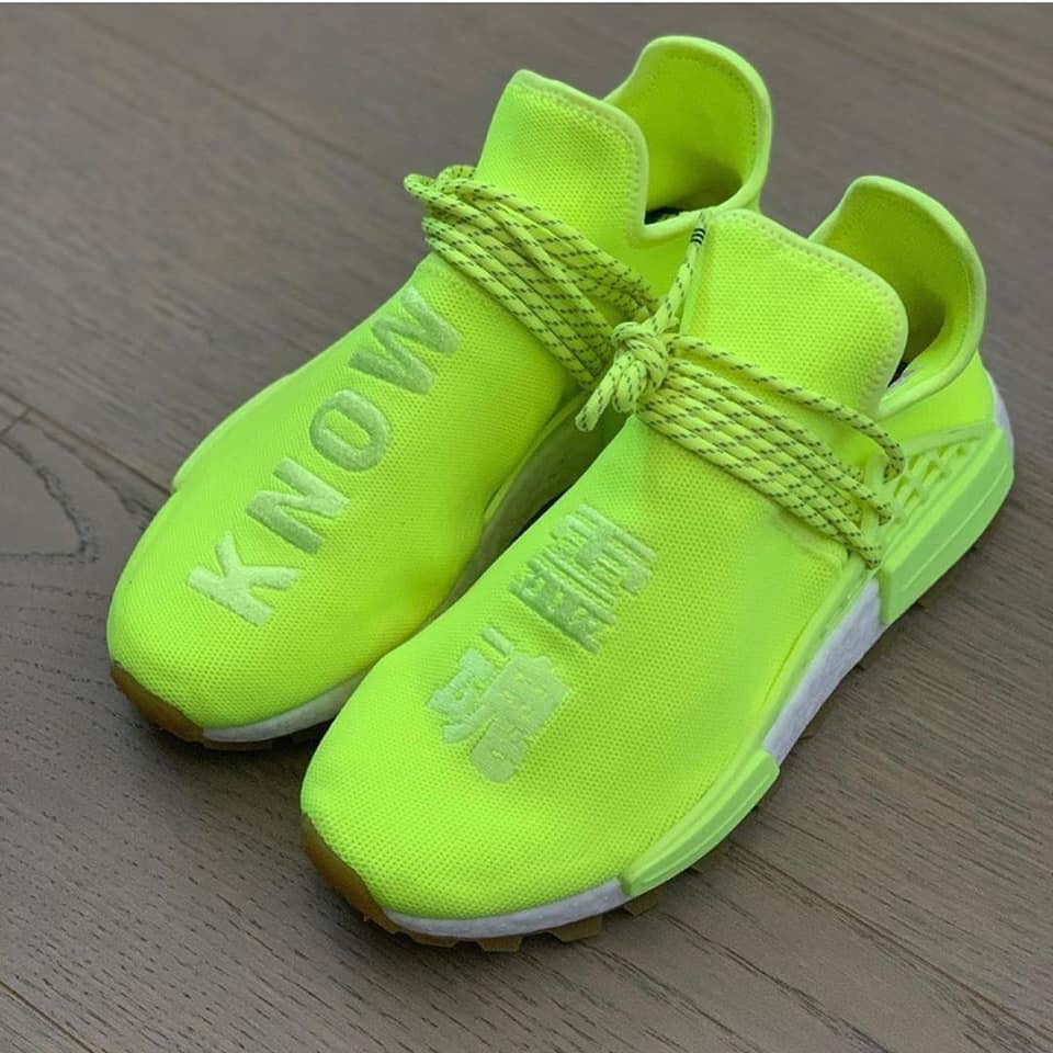 Pharrell Williams x Adidas NMD Hu yelow