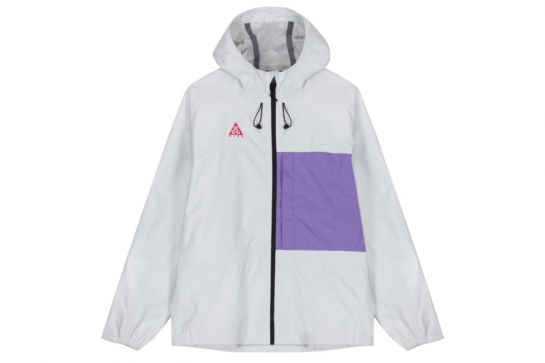 manteau Nike AGC blanc et violet
