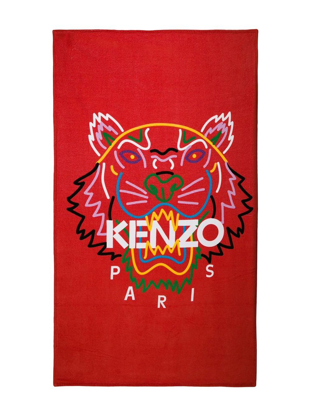 serviette de bain kenzo
