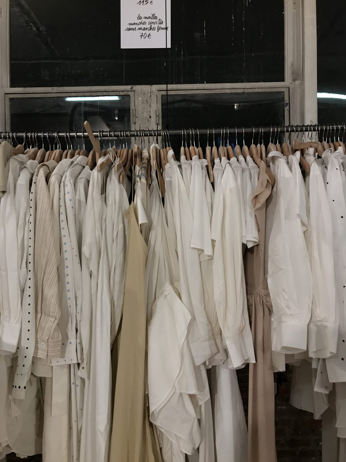 Pièces d'archive jacquemus blanc
