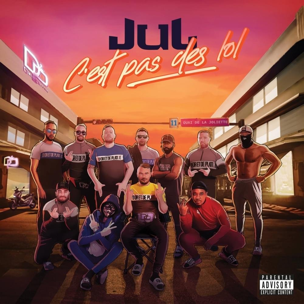 Couverture album Jul C'est pas des LOL