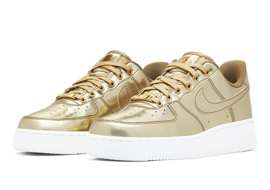 Nike Air Force 1 Low Metallic Gold
