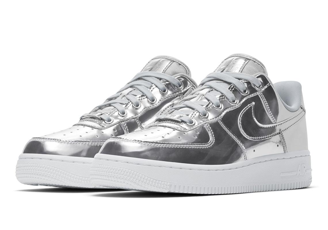 Nike Air Force 1 Low Metallic Chrome