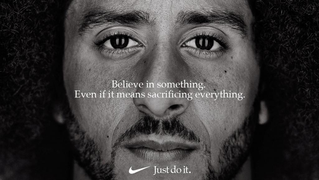 Campagne publicitaire Nike Colin Kaepernick