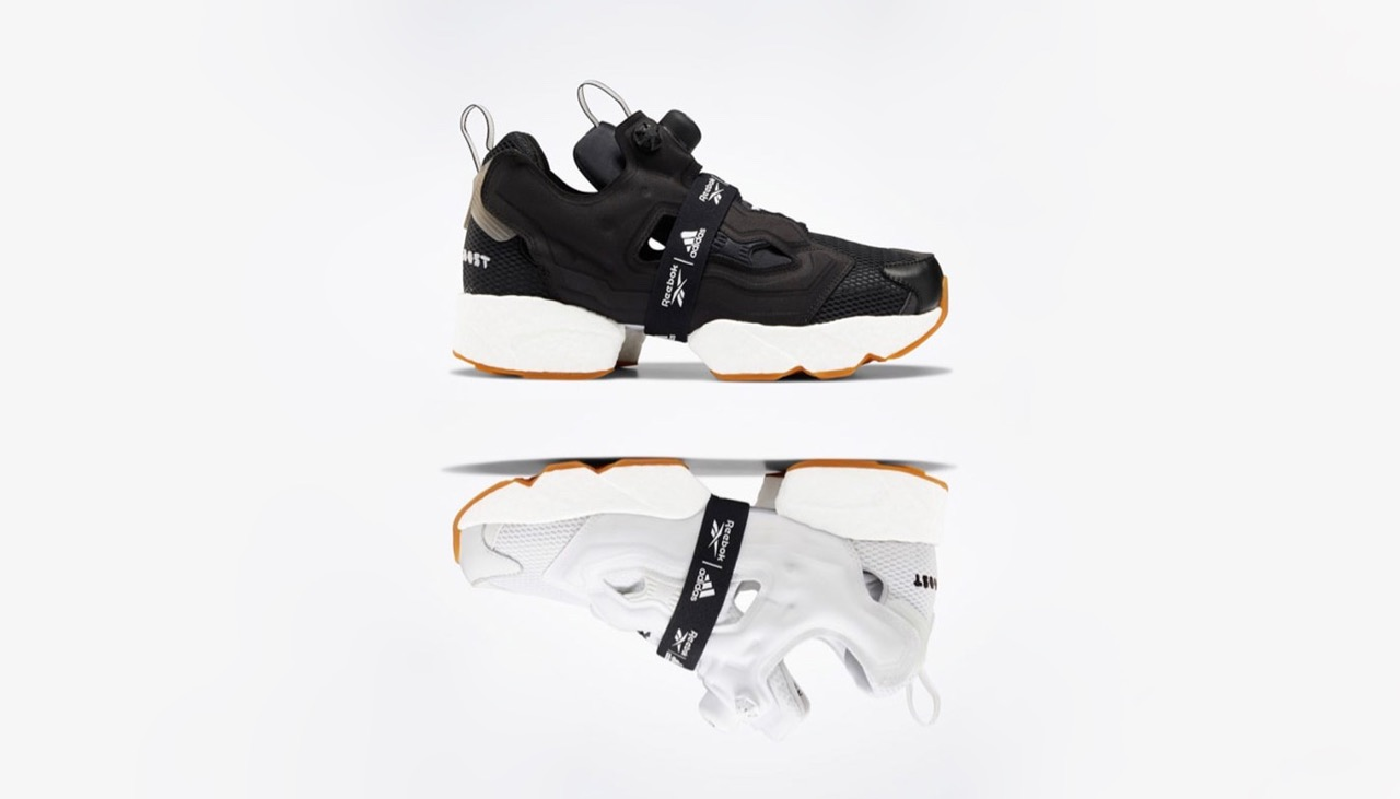 Reebok x Adidas Instapump Fury Boost Black & White