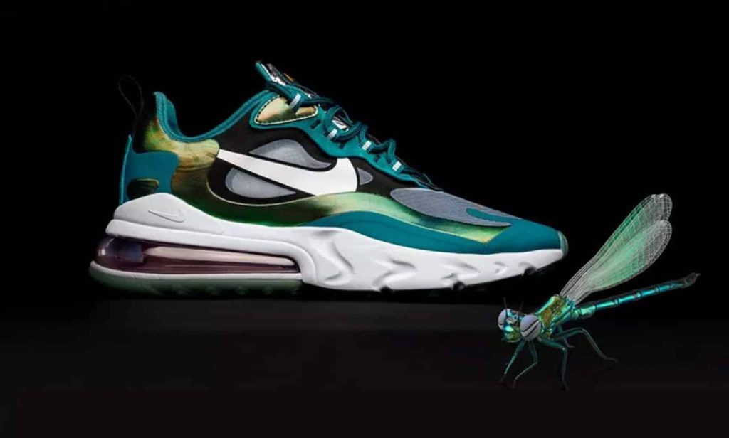 Size? x Nike Air Max 270 React Dragonfly