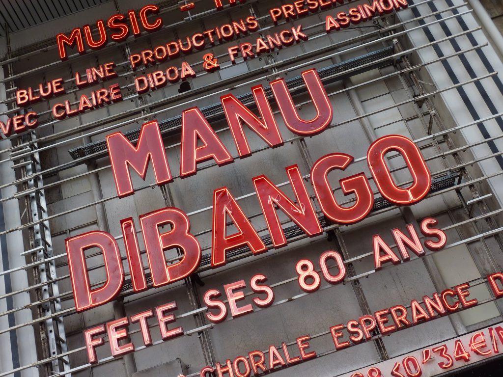 Manu Dibango Olympia