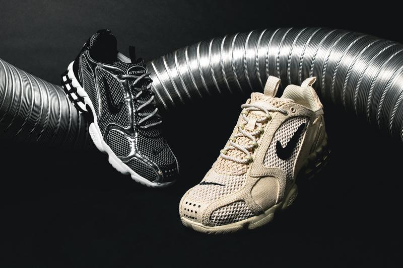 Stussy x Nike Air Zoom Spiridon Caged 2