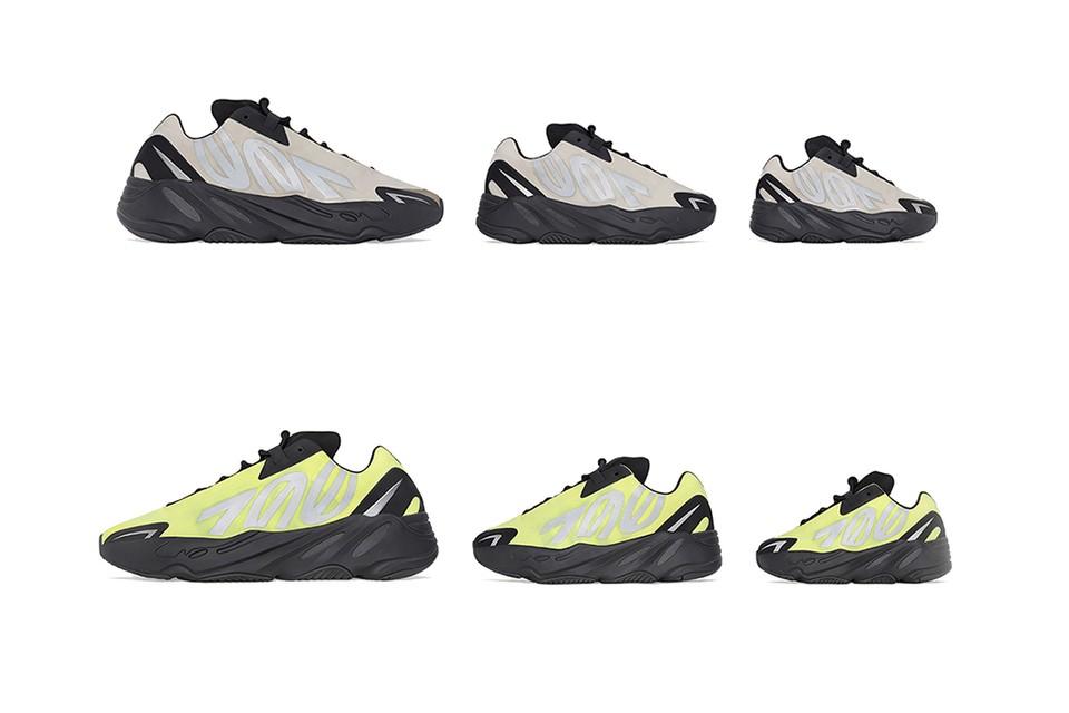 Adidas Yeezy Boost 700 MNVN Phosphor & Bone