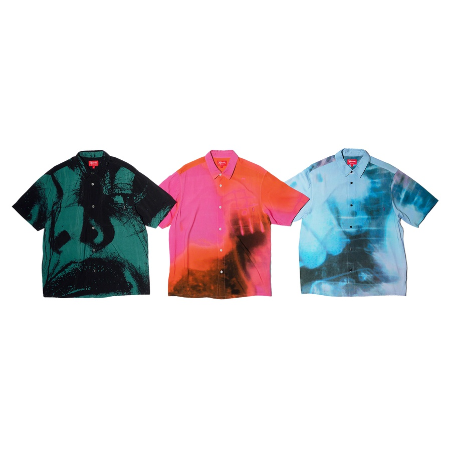 Supreme My Bloody Valentine Rayon Shirt S/S20