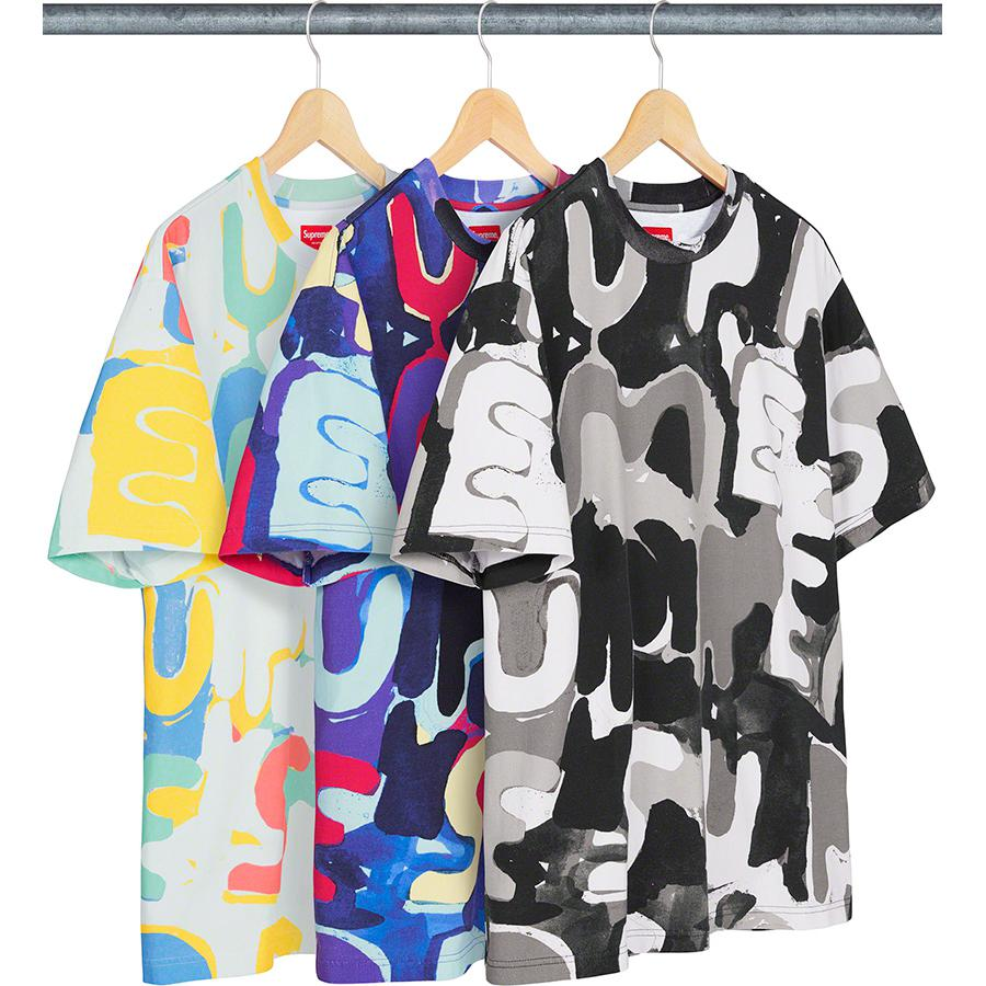 Supreme Painted Logo S/S Top S/S20