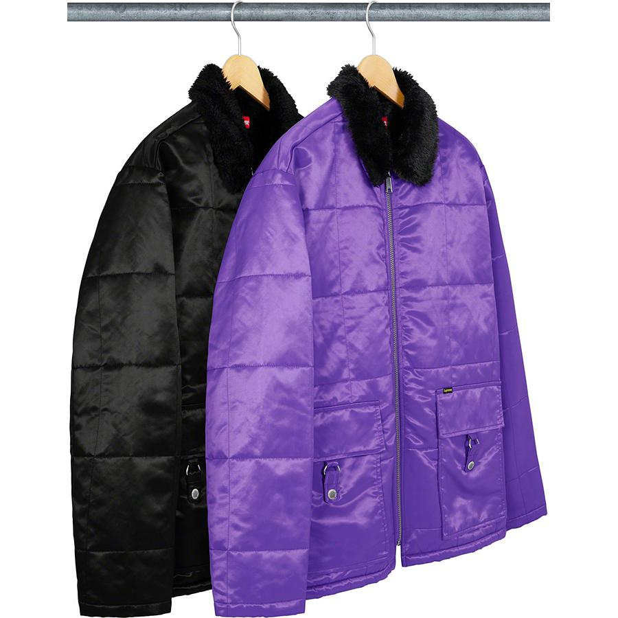 Supreme Quilted Cordura Lined Jacket S/S20