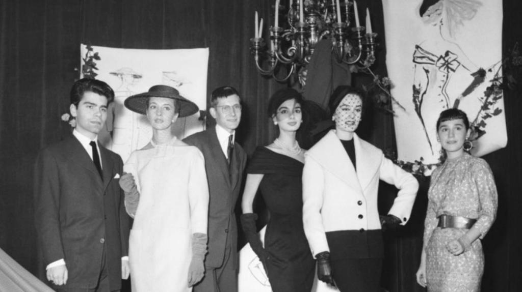 Karl Lagerfeld au prix Woolmark de 1954