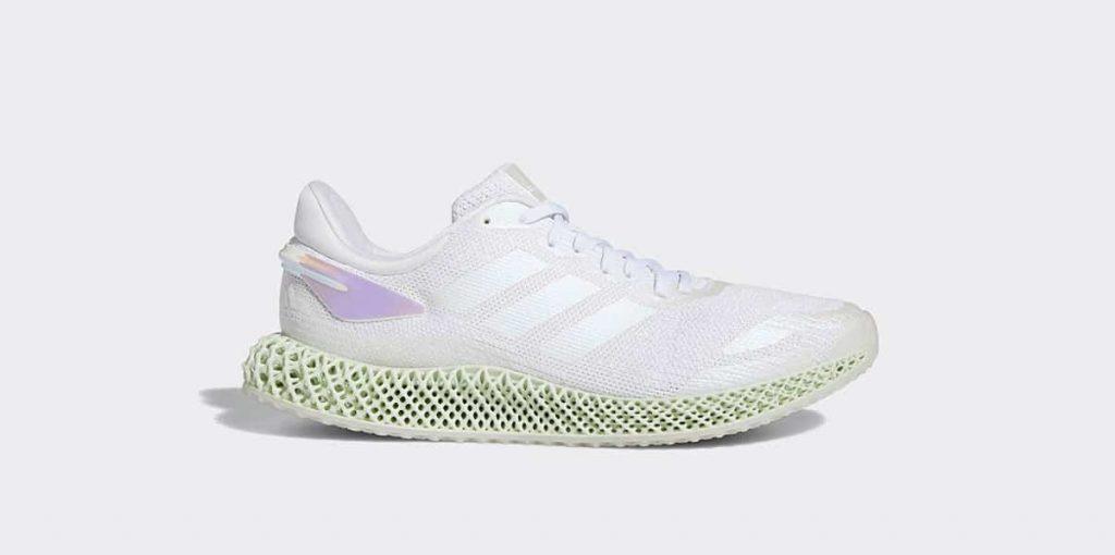 Adidas 4D Run 1.0 White Iridescent