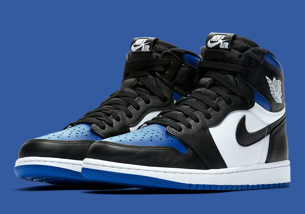 Nike Air Jordan 1 Retro High OG Black Game Royal