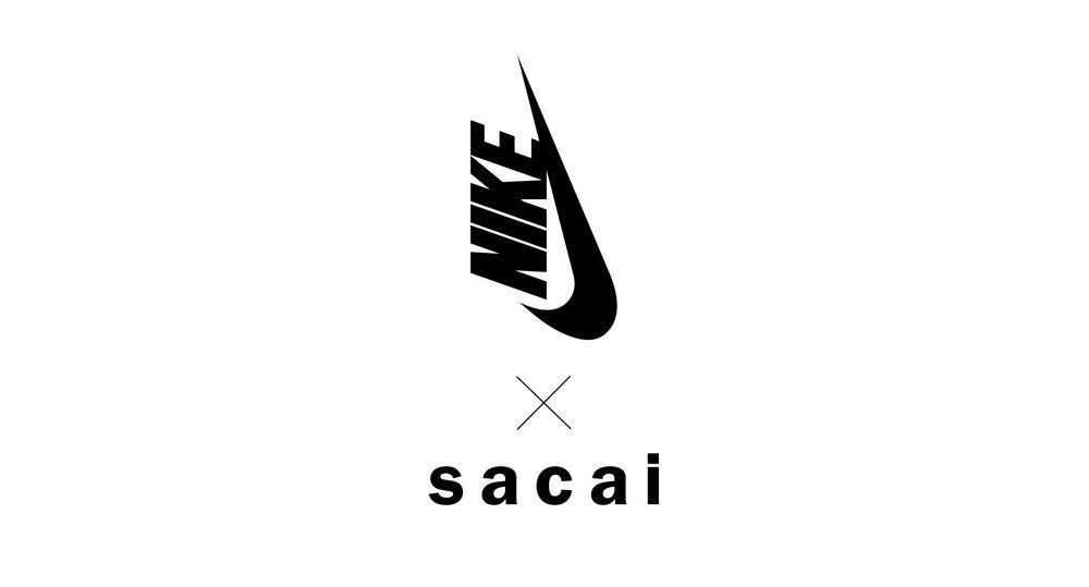 Logo Nike x Sacai