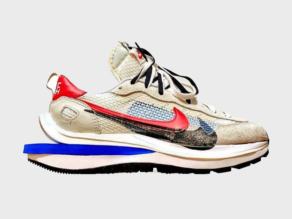 Sacai x Nike VaporWaffle Ligh Bone
