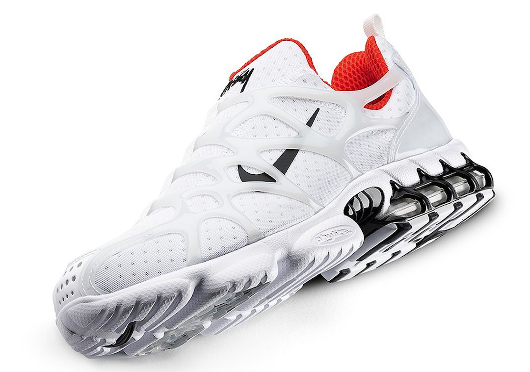 Stussy x Nike Air Zoom Spiridon KK White