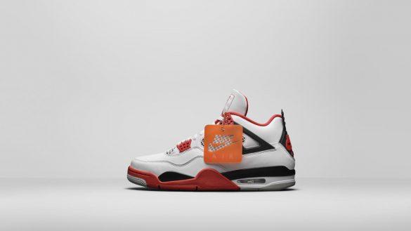 Air jordan 4 Retro Tech Red