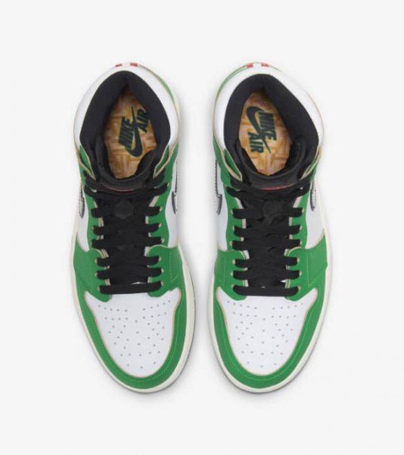 Air Jordan 1 WMNS Lucky Green