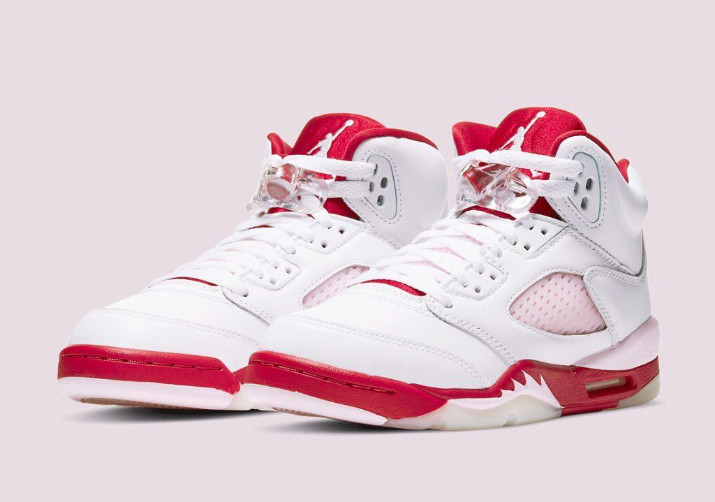 Air Jordan 5 GS White Pink Foam