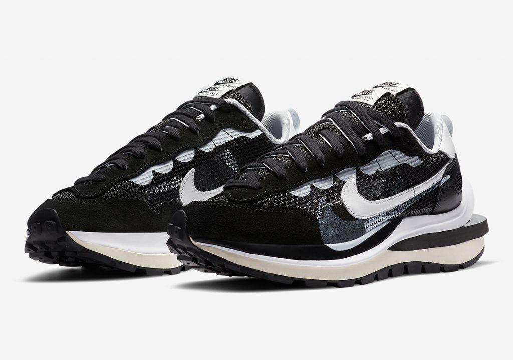 Sacai x Nike VaporWaffle Black/White
