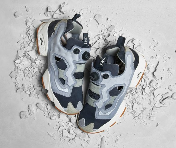 END x Reebok InstaPump Fury Fossil Pack True Grey