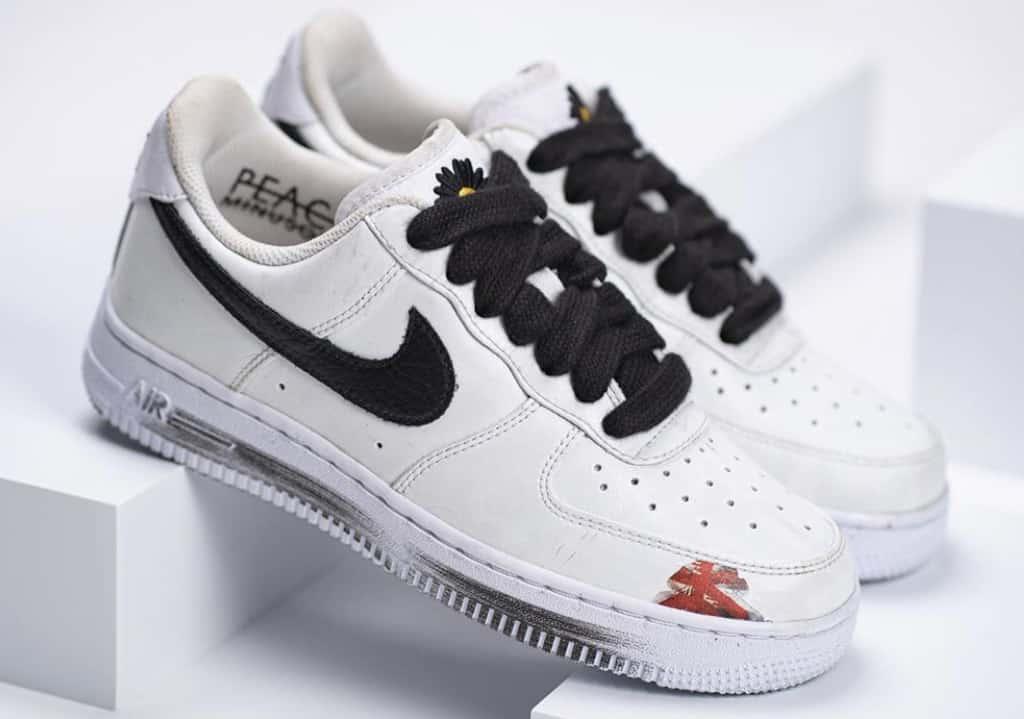 Peaceminusone x Nike Air Force 1 Paranoise White