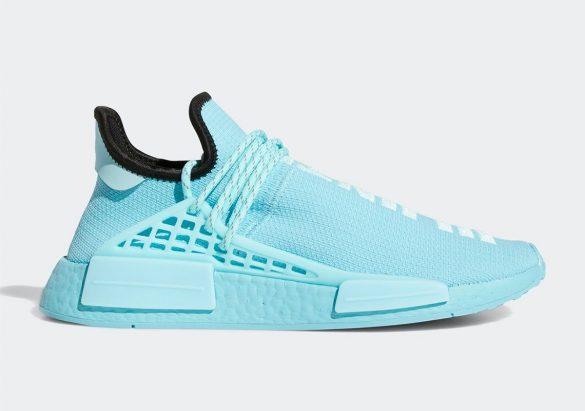 Pharrell x adidas NMD Hu Aqua