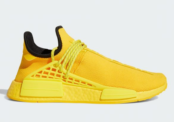 Pharrell x adidas NMD Hu Yellow
