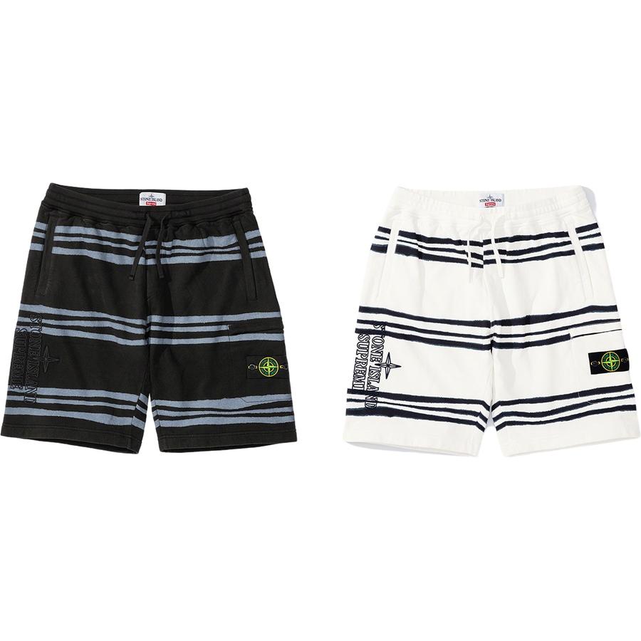 Supreme/Stone Island Warp Stripe Short