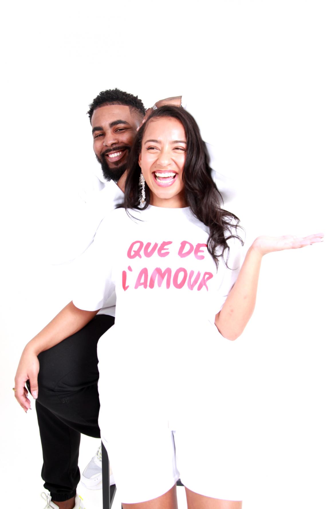 que de l'amour t-shirt