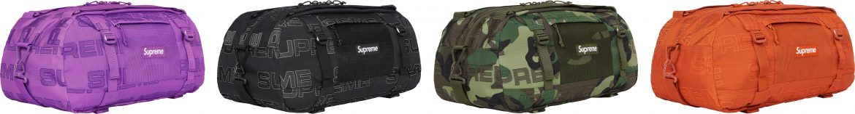 Supreme FW21 Duffle Bag