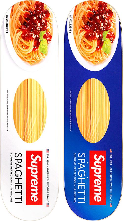 Supreme Spaghetti Skate