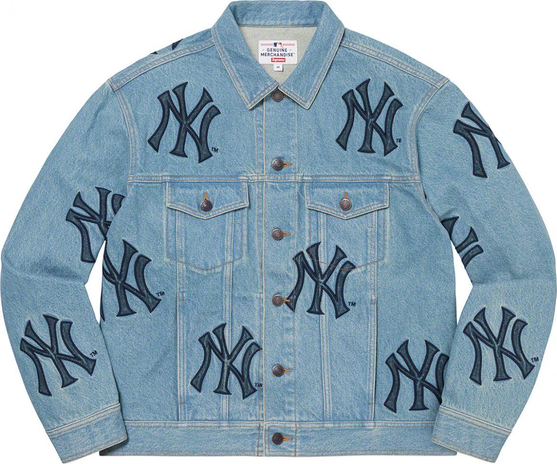 Supreme Yankees Denim Jacket
