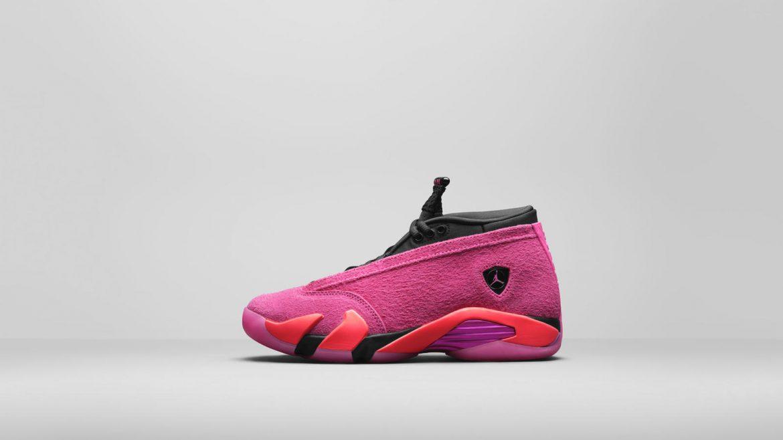 Air Jordan 14 Low WMNS Shocking-Pink